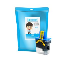 TINTA COMPATIBLE BROTHER LC 41 CYAN
