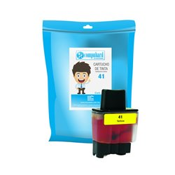 TINTA COMPATIBLE BROTHER LC 41 AMARILLO