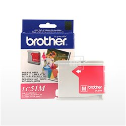 CART. TINTA BROTHER LC 51 MAGENTA
