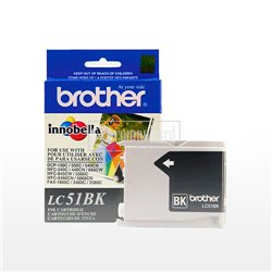 CART. TINTA BROTHER LC 51 NEGRO
