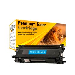 TONER COMPATIBLE BROTHER TN 210 CYAN G2