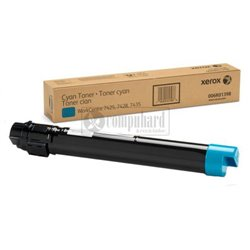 TONER ORIGINAL XEROX WORKCENTRE 7525 CYAN 26K